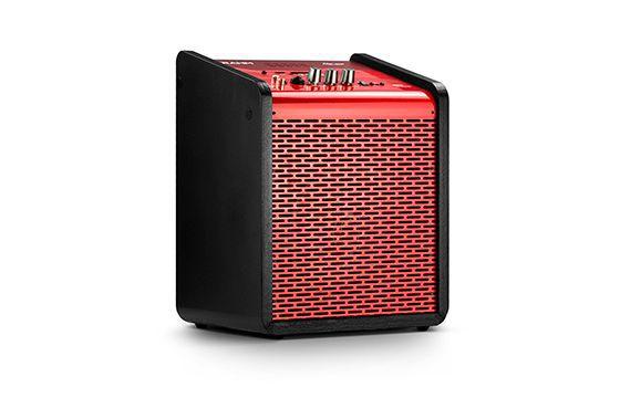 Caixa de Som Amplificada Frahm Chroma Battery Red 100 WRMS USB Bluetooth - Vermelha
