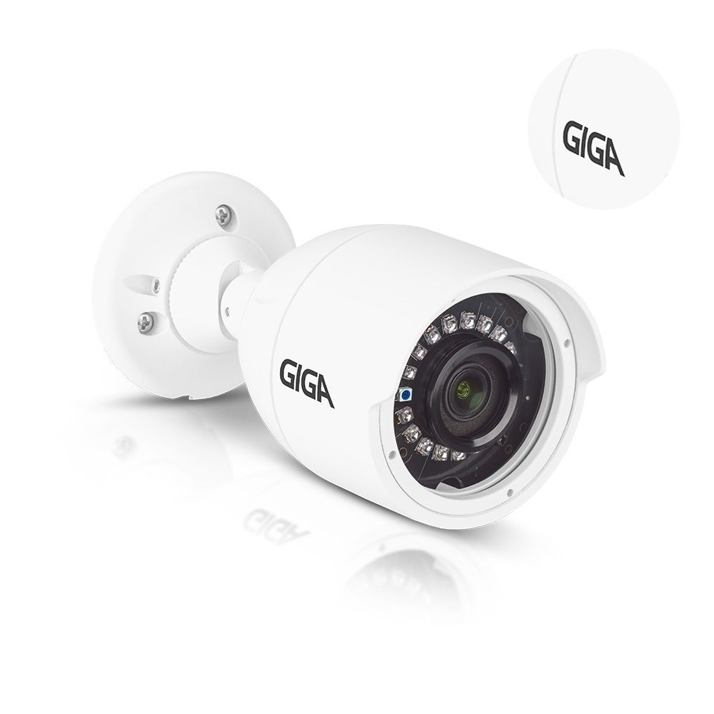 Câmera de segurança Bullet 1080P Giga Open HD Super Starvis IR 30m - GS0057