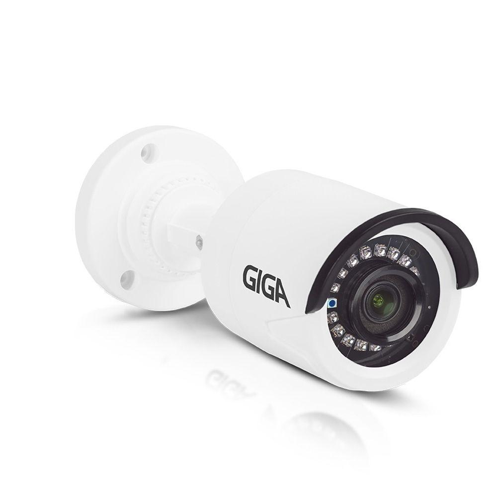 Câmera de segurança Bullet Plástica 720p HD GIGA Série Orion Infravermelho 20m - GS0020