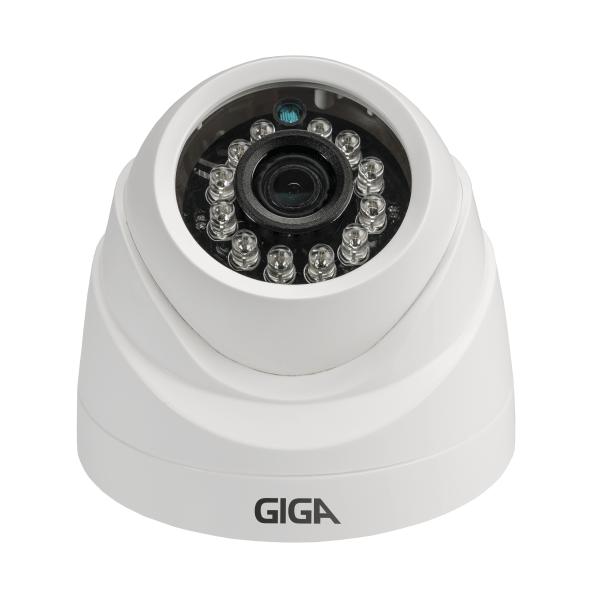 Câmera de segurança Dome Plástica 960 Plus GIGA Infravermelho 20m - GS0001