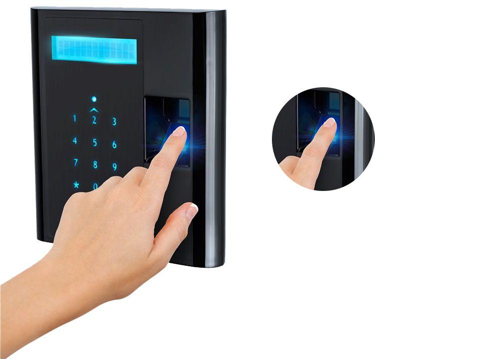 Controle de acesso GIGA por senha e biometria - GSTOUCHCT