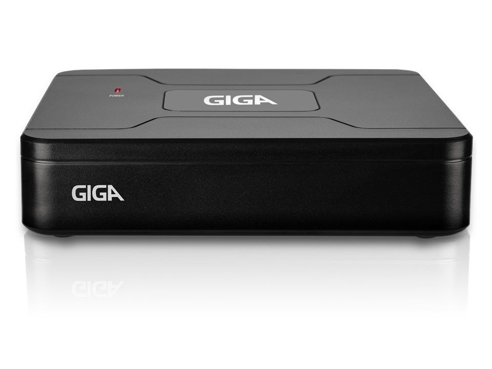 DVR 8 Canais Giga Securuty 720p Open HD Lite com Saída HDMI e VGA - GS0083
