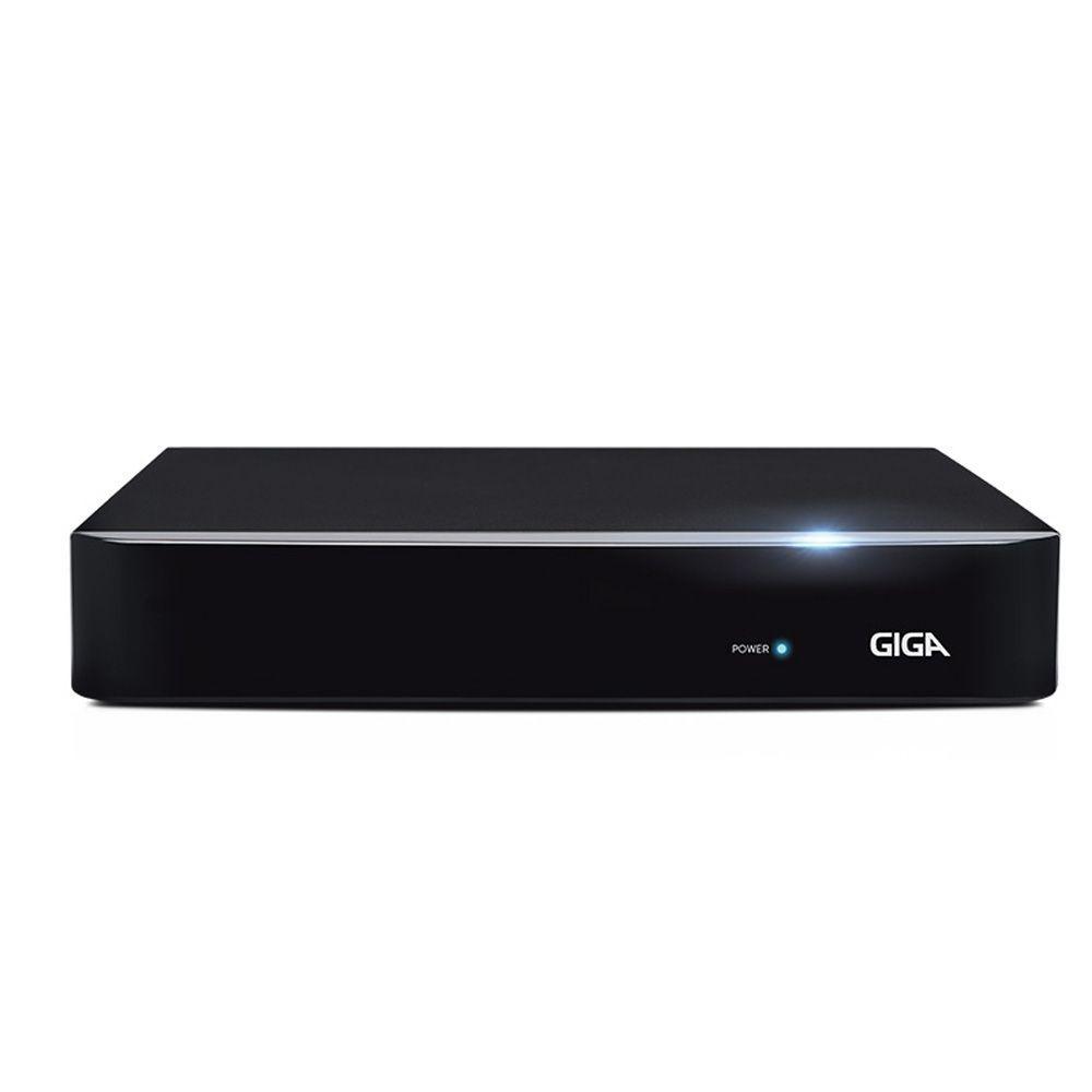 DVR 8 Canais Híbrido Giga Security 1080P Série Orion Open HD - GS0181