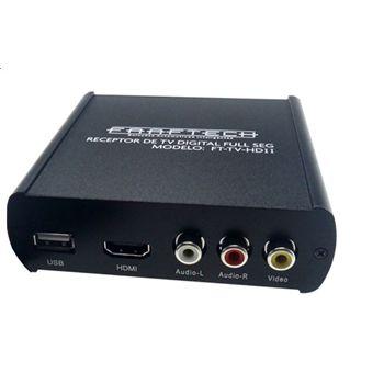 Faaftech FT-TV-HD III - Sintonizador/Receptor TV Digital Full HD HDMí/