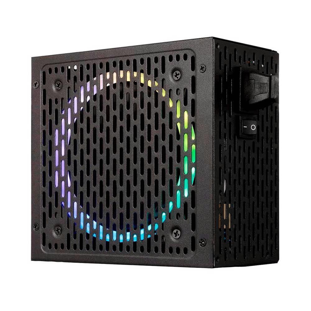 Fonte 550W 80 Plus Automática RGB BRX Rainbow