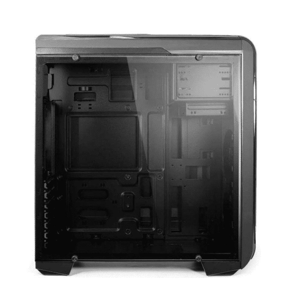 Gabinete Gamer 3 Baias Internas USB 2.0 Preto Warrior Multilaser - GA155