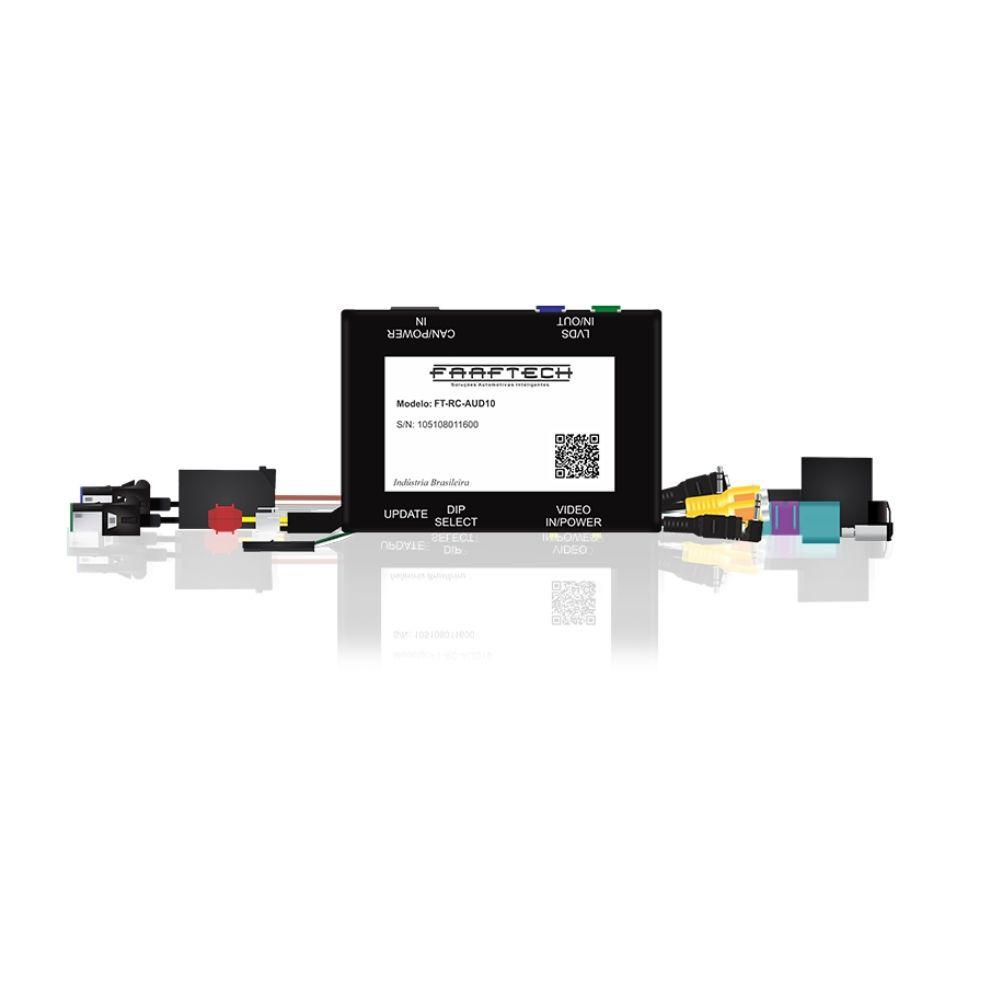 Interface de Câmera de Ré Linha Audi 2011 até 2019 FT-RC-AUD10 - Faaftech