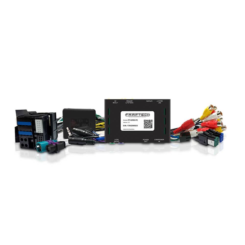Interface de Tela Citroen Peugeot 2014 até 2019 Faaftech FT-LVDS-PC