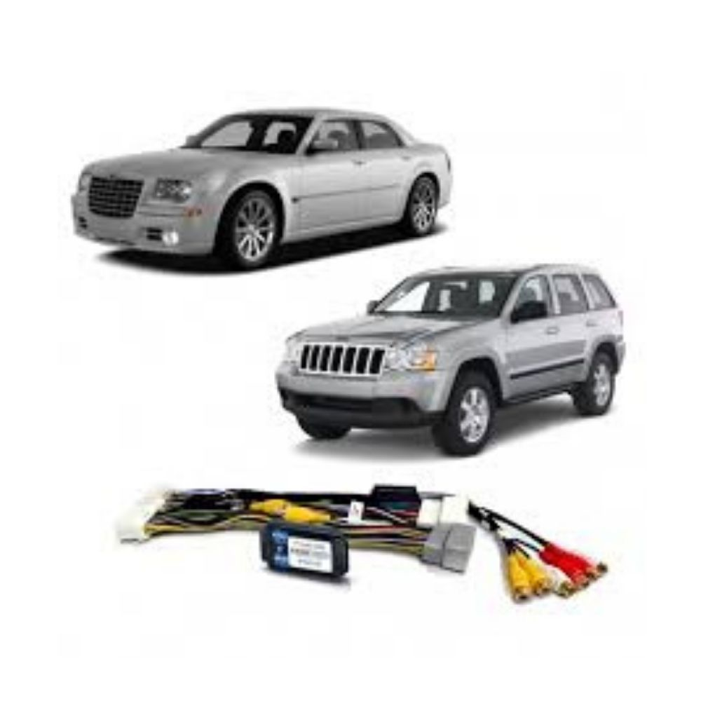 Interface de Vídeo Chrysler 300C Jeep Grand Cherokee 2008 até 2010 FT-VF-MYGIG-LOW - Faaftech