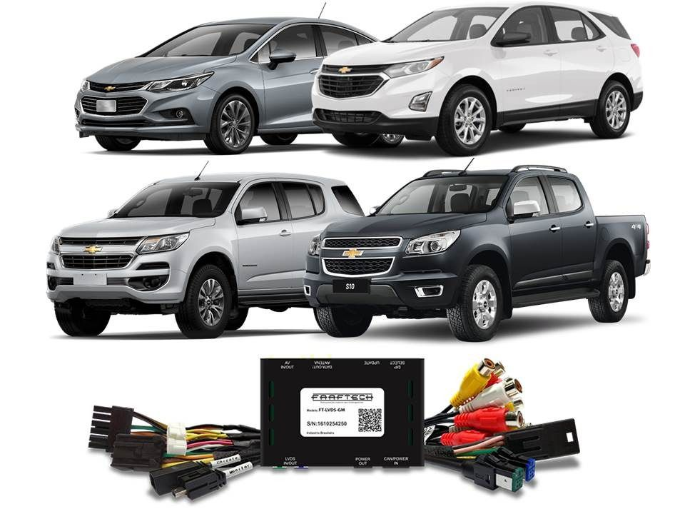 Interface de Vídeo Cruze Equinox S10 Trailblazer 2017 em diante FT-LVDS-GM - Faaftech