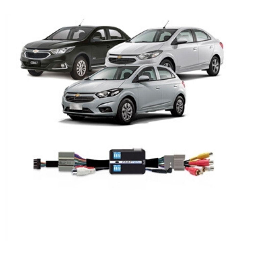 Interface de Vídeo Linha Chevrolet 2016 em diante FT-VF-GM16 - Faaftech