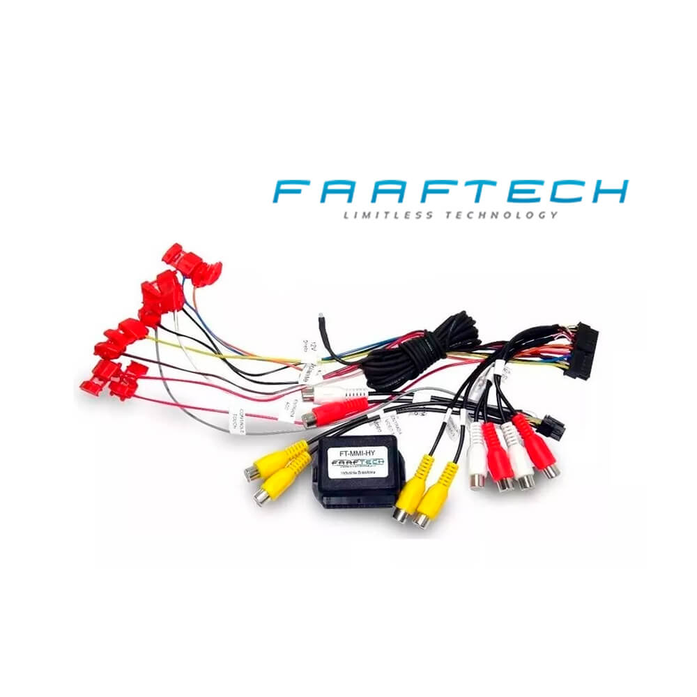 Interface de Vídeo Veloster Sportage Faaftech - FT-MMI-HY