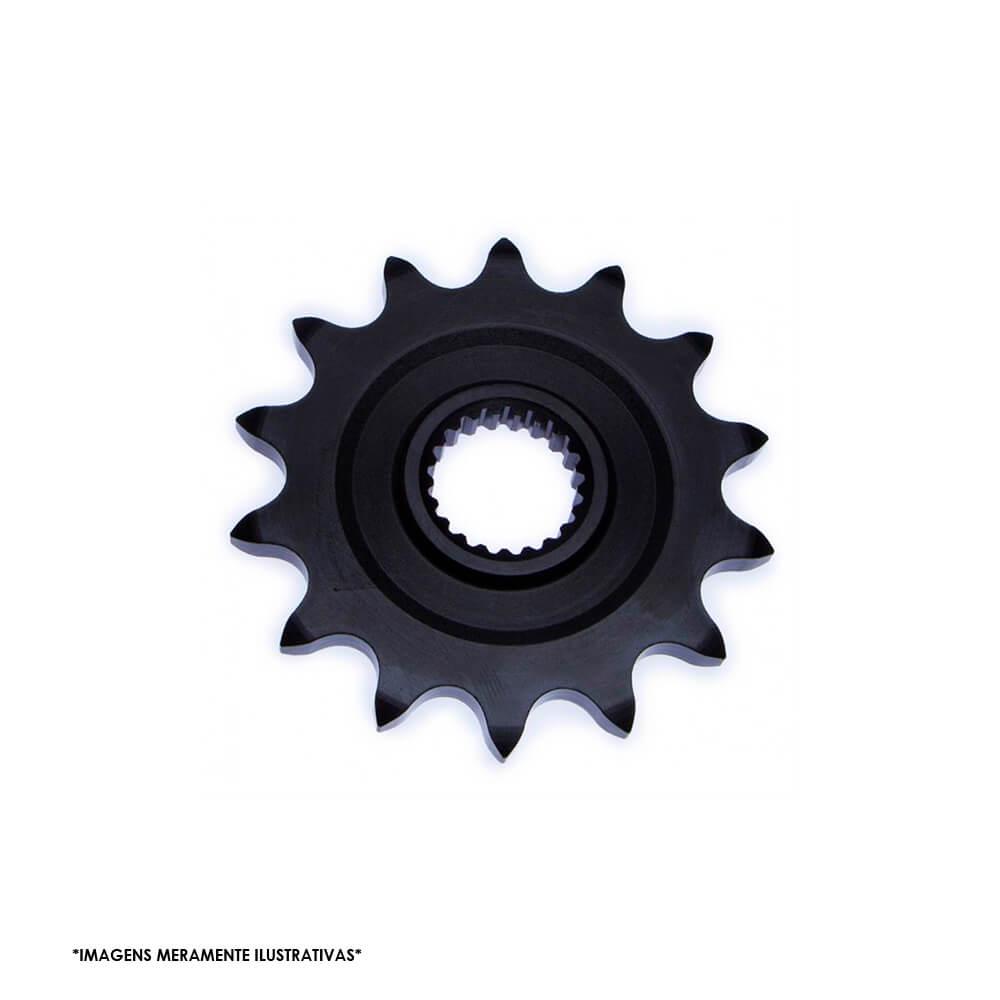 Kit Relação Transmissão Com Retentor O-Ring Honda CBX250 TWISTER 2001 2009 Xtreme Black H03087X - VAZ