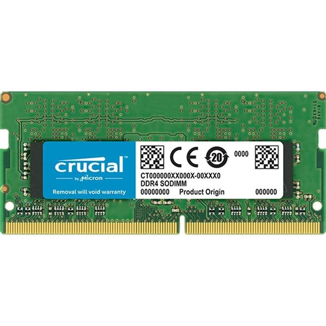 Memoria Notebook 8gb Ddr4 2400mhz 1.2v CL17 - CT8G4SFS824A Crucial