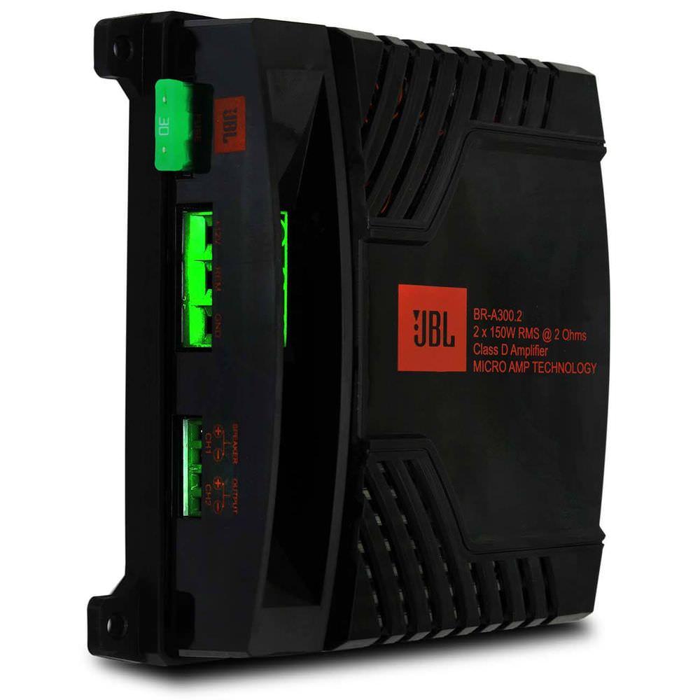 Módulo de Potência JBL BR-A 300.2 - 2X150W