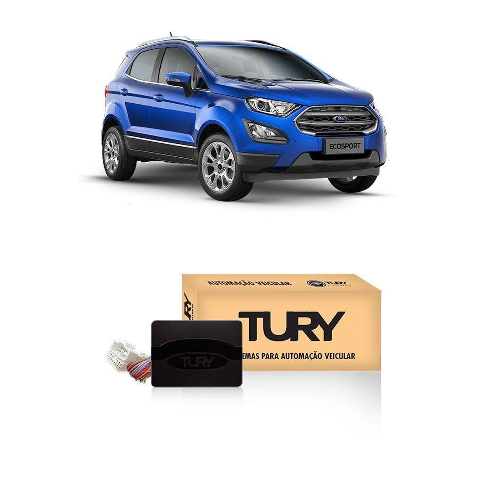 Modulo de Vidro Tury com Anti-esmagamento PRO4.38LONGF - Ford Ecosport Direct 2018 em diante 4 portas