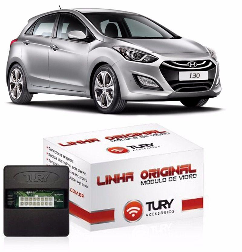 Modulo de Vidro Tury Hyundai i30 2013/2014/2015/2016/2017/2018/2019 LVX10BC