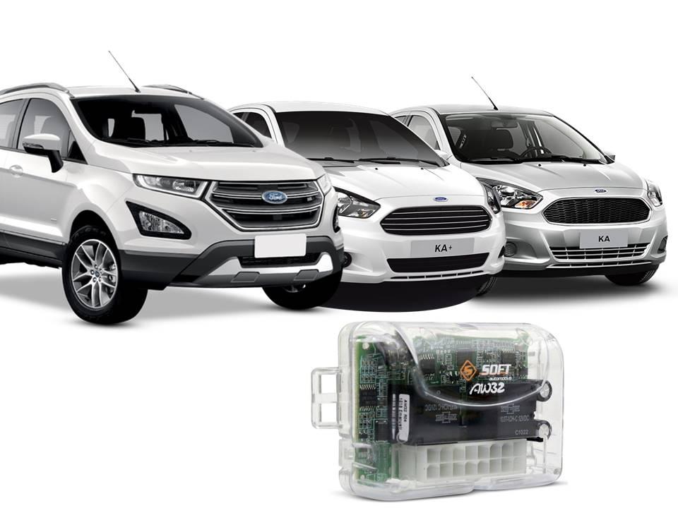 Modulo de Vidros Soft com Antiesmagamento AW 44 CN ORIG 4V - FORD KA/KA+(>14) / ECOSPORT S(13-17) 4p