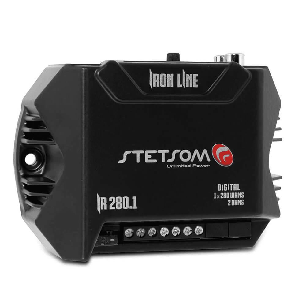 Modulo Stetsom IR280.1 280W 1 Canal 2 Ohms Digital
