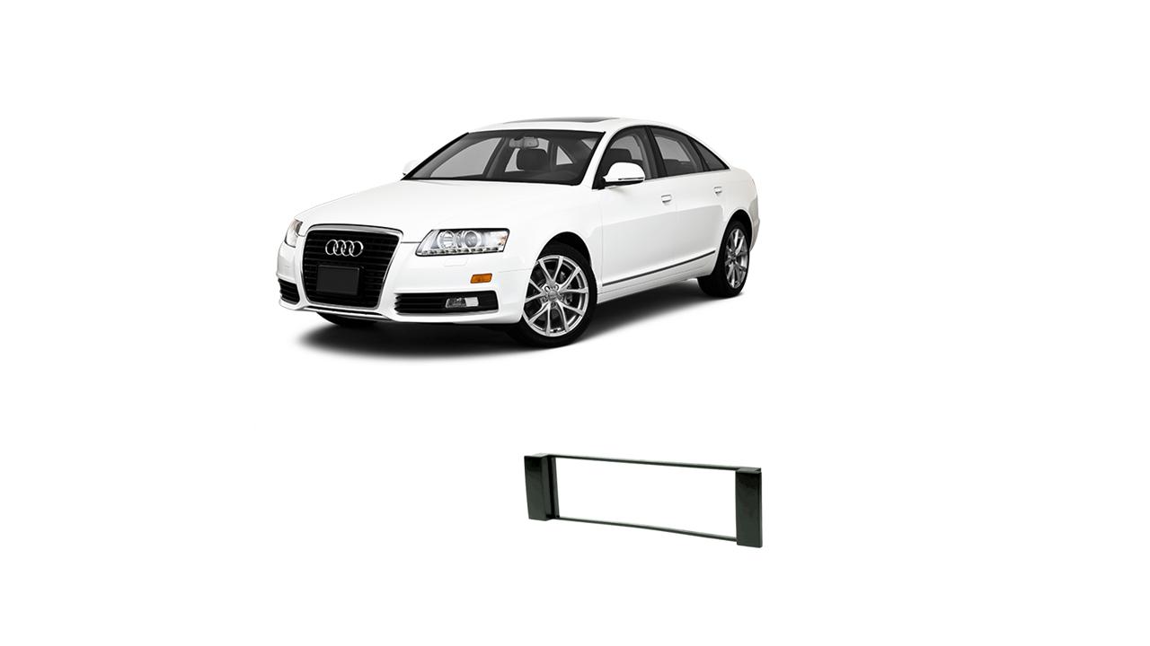 Moldura 1 Din Audi A6 2002 2003 2004 2005 2006 CH EPX 158