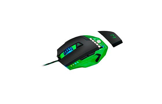 Mouse Gamer 3200dpi Warrior MO245 - Multilaser