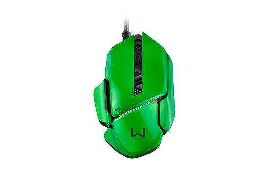 Mouse Gamer 8200dpi Warrior 8 Botões MO247 - Multilaser
