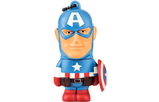 Pen Drive 8 Gb Marvel Cap. América - Multilaser PD080