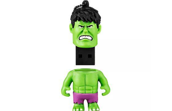 Pen Drive 8 Gb Marvel Vingadores Hulk - Multilaser PD082
