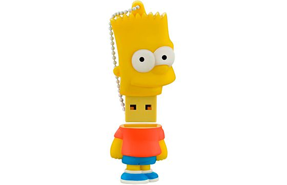 Pen Drive 8 Gb Simpsons Bart - Multilaser PD071