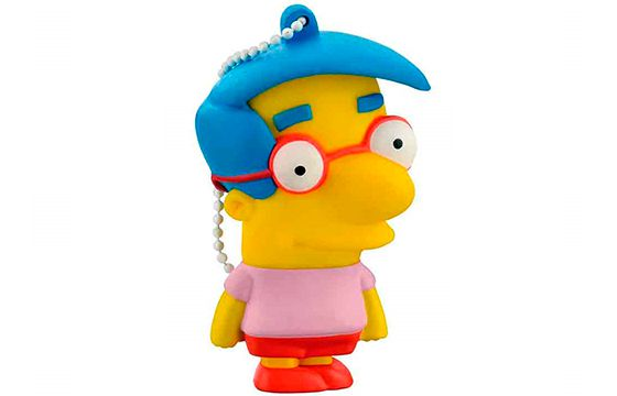Pen drive 8 GB Simpsons Mil House - Multilaser PD075