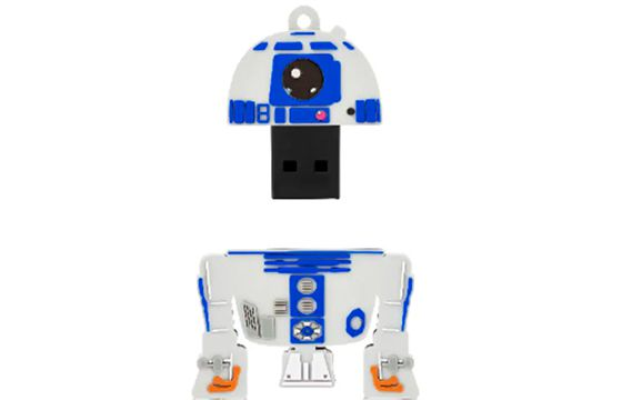 Pen drive 8 GB Star Wars R2D2 - Multilaser PD036