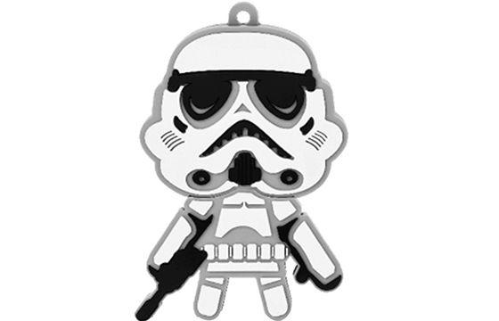 Pen drive 8 GB Star Wars Stormtrooper - Multilaser Pd039