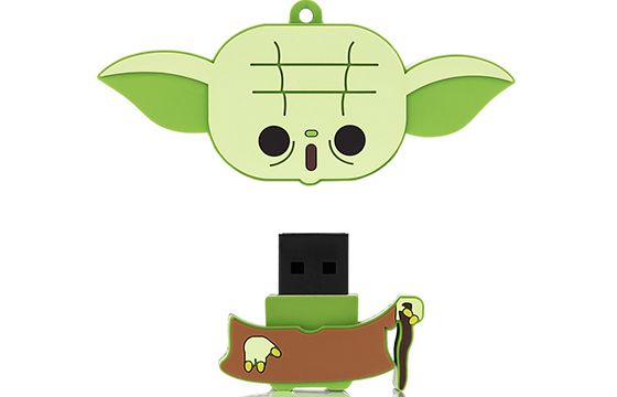 Pen drive 8 GB Yoda - Multilaser PD037