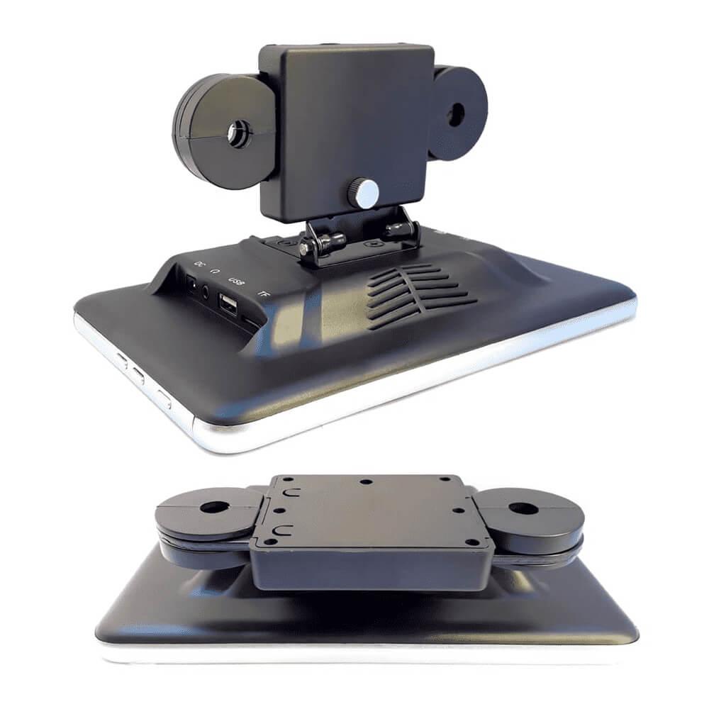 Tela de encosto de cabeça acoplável H-Tech ET800 Touch 8 pol USB SD Aux BT Espelhamento Android