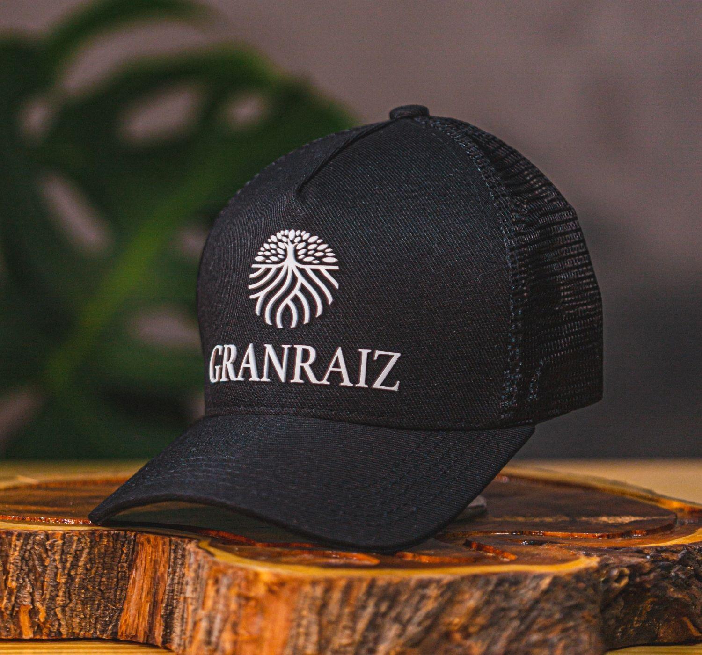 Boné GRANRAIZ Preto - Ref. 8701