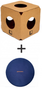 1 cubo labirinto + almofada