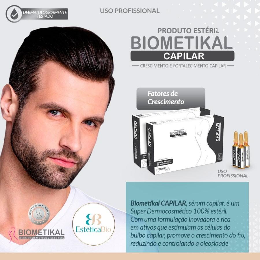 BIOMETIKAL CAPILAR 24 ML 6AMP 4ML