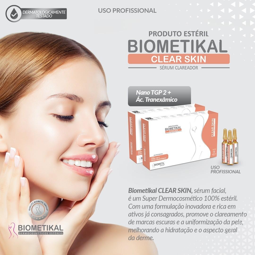 BIOMETIKAL CLEAR SKIN 24 ML 6AMP 4ML