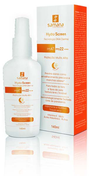 Hydra Screen Loção Facial FPS 47|PPD22 - 140ml