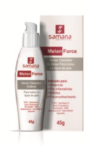 Melan Force Dermo Clareador Cutâneo - 45g