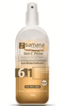 Skin C Demaquilante Thermal Bifásico - 100g