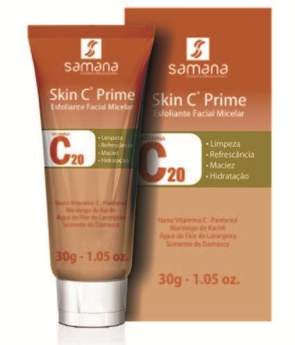 Skin C Prime®  Esfoliante Facial Micelar - 30g