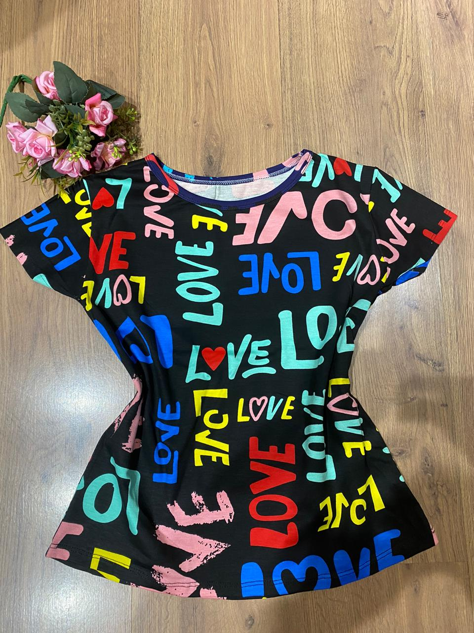 BLUSA LOVE COLORS