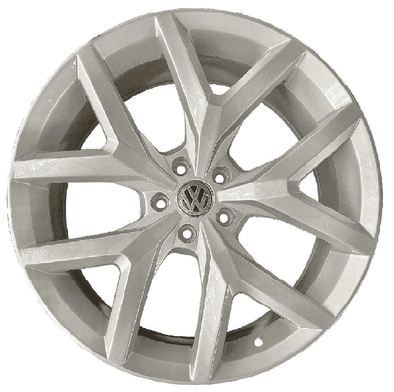 Roda Amarok Mw070 22X9 5x120 ET45 CB65.1 Prata