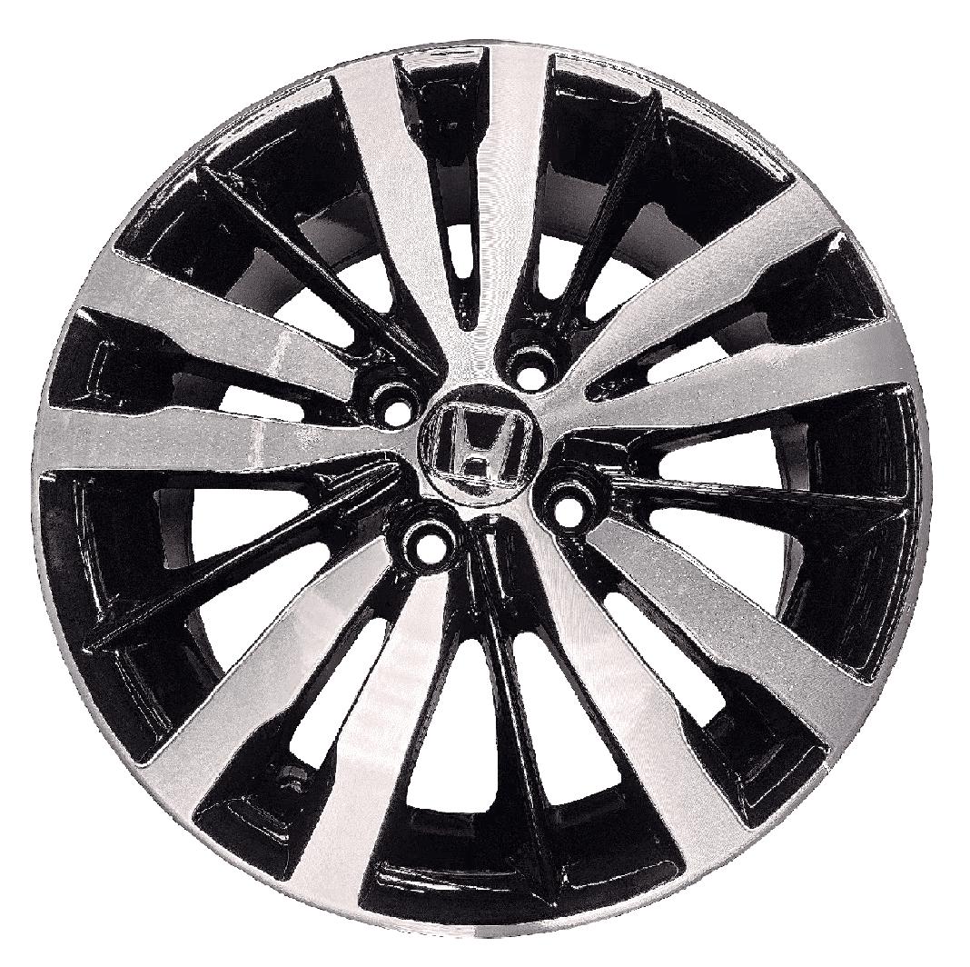 Roda Mw050 15x60 4x100 Et45 Cb56.1 Preto Diamantado Brilhante