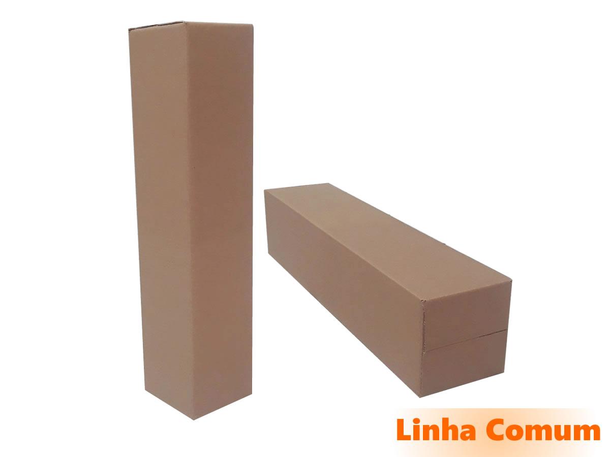 10 Caixas de Papelão 15x15x68 cm LINHA COMUM