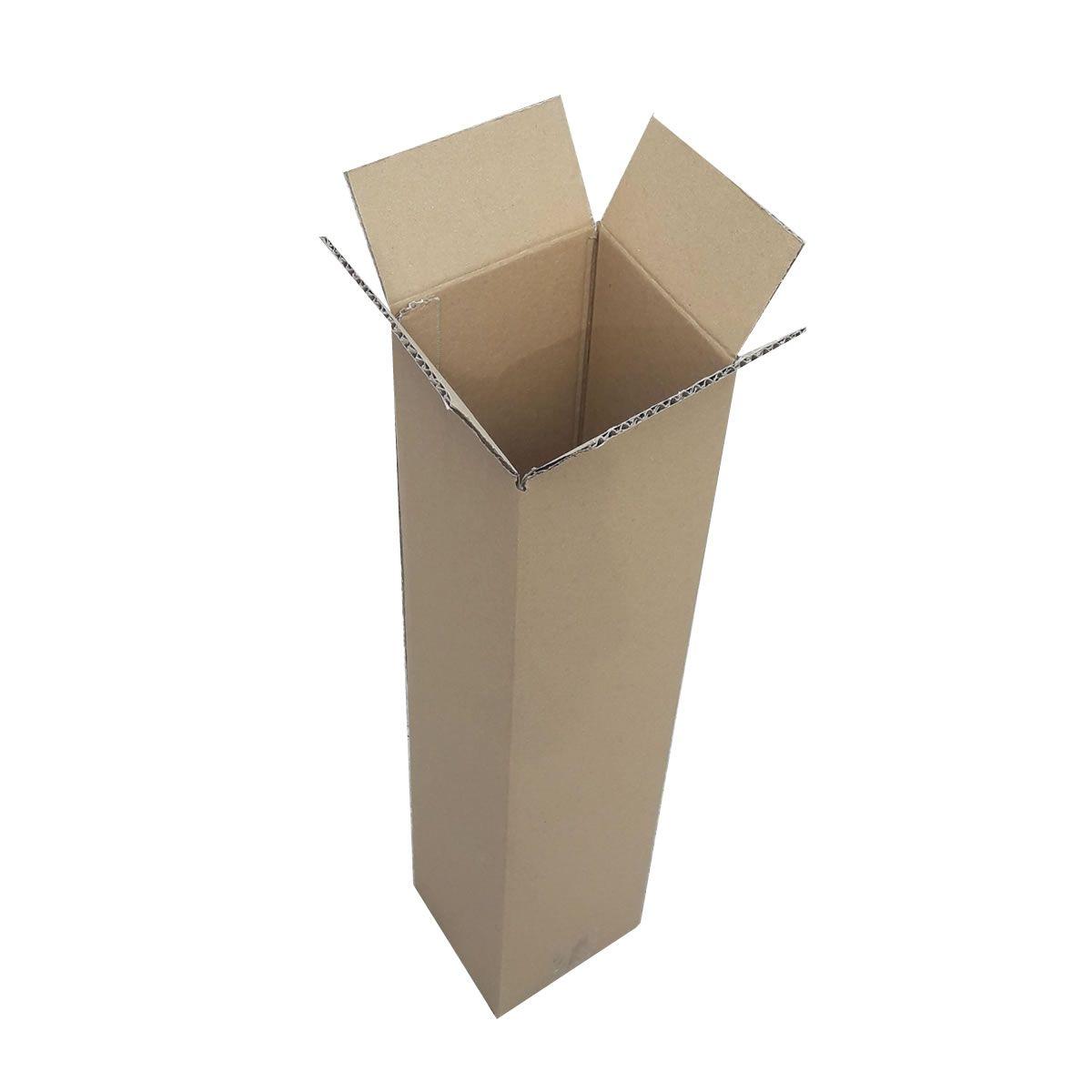 10 Caixas de Papelão 15x15x68 cm - caixa tubo para correio