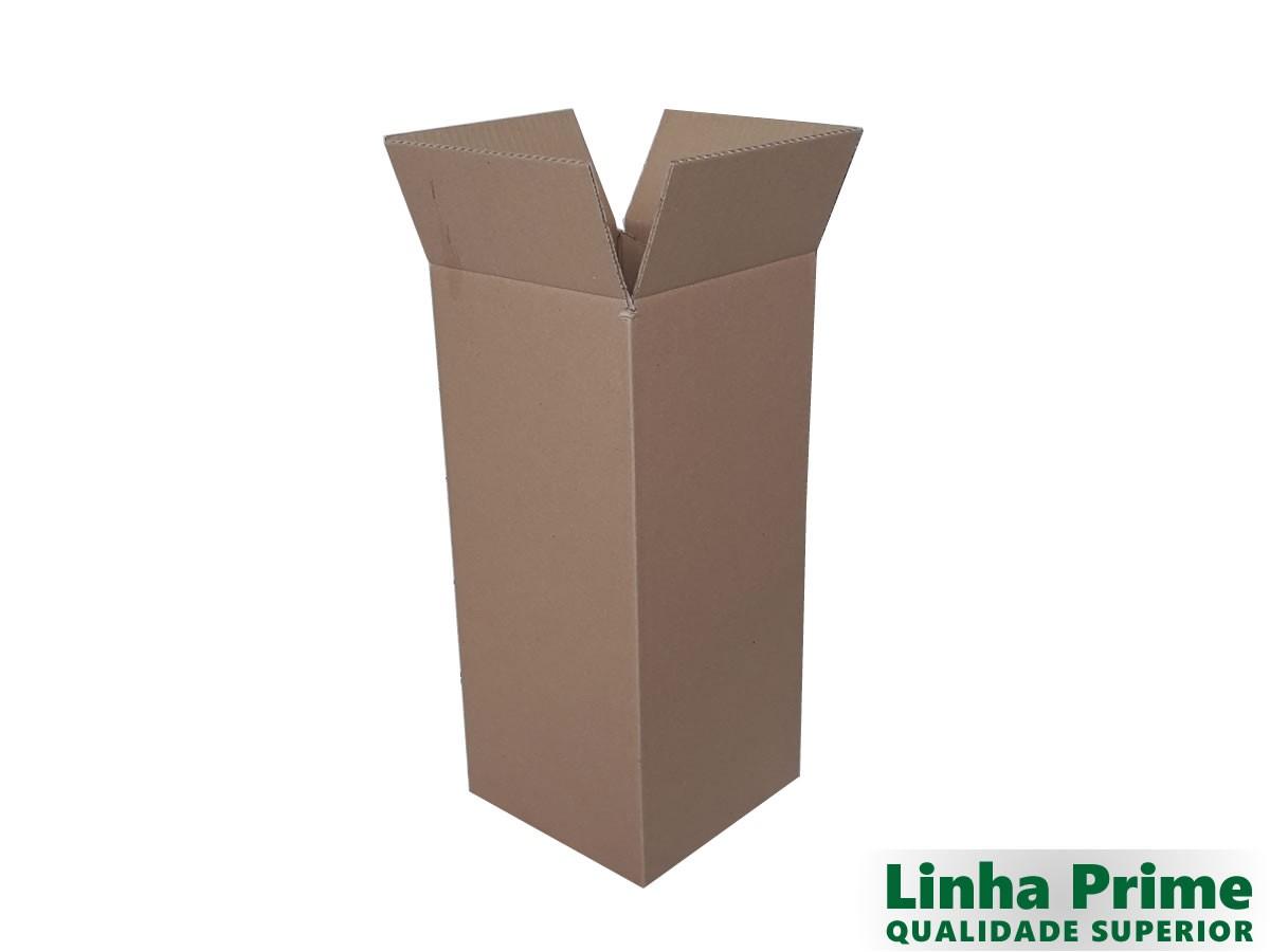10 Caixas de papelão 20x20x46 cm LINHA PRIME