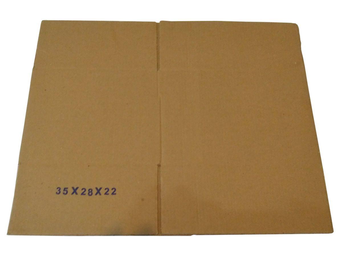 10 Caixas de Papelão 35x28x22 cm para correio e transportes