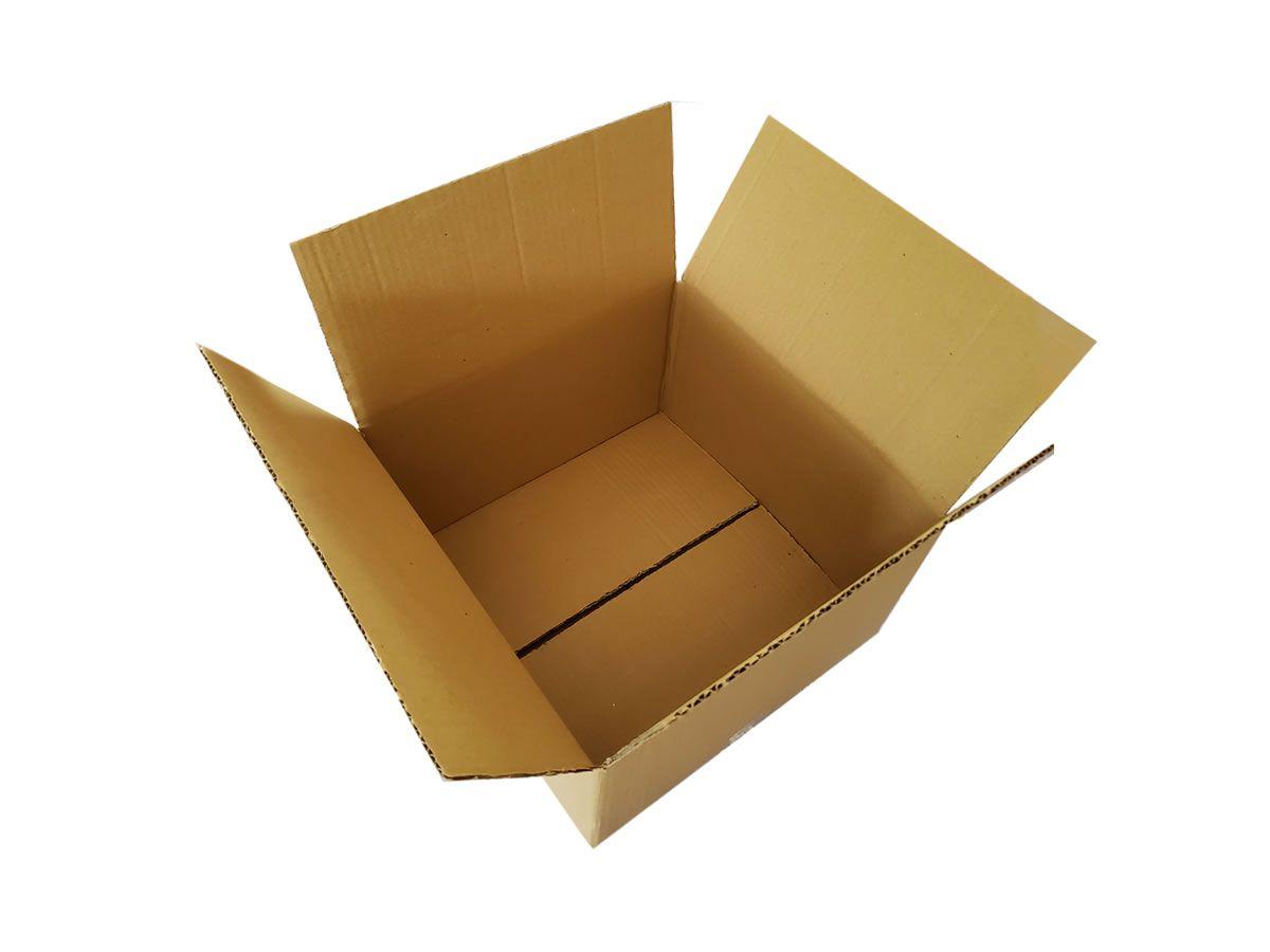 10 Caixas de Papelão 35x35x20 cm para correio e transportes